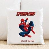 Spiderman Kişiye Özel Yastık Kılıfı Pi213