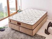 Tek Kişilik Lüks Full Ortopedik Yatak 90x200 Cm Niron Bamboo Green Sleep