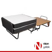 Niron XL Katlanır Yatak   90x200 Katlanır Portatif Yatak-8