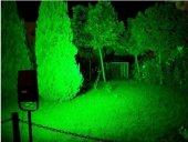 10W-30W-50W Watt Yeşil Bahçe Led Aydınlatma Çim Projektörü+Fiş -2