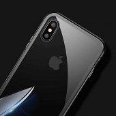 Baseus Manyetik Metalic Gümüş iphone X / XS Kılıf-2
