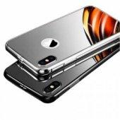 Baseus Manyetik Metalic Gümüş iphone X / XS Kılıf-7