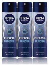 Nivea Deo Sprey Erkek Deodorant Cool Kick 150ml...