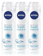 Nivea Deo Sprey Kadın Deodorant Fresh Natural...