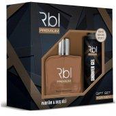 Rebul Premium Kofre (200ml Edt + Duş Jeli)