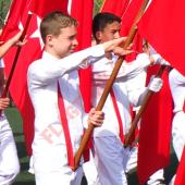 İlkokul Tören Bayrağı-3
