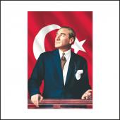 Atatürk Posteri 1 600*900 Cm
