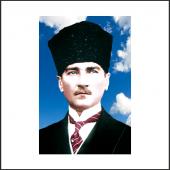 Atatürk Posteri 4 600*900 Cm