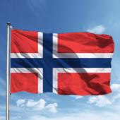 Norveç Bayrağı 150*225 Cm