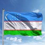 özbekistan Bayrağı 150*225 Cm