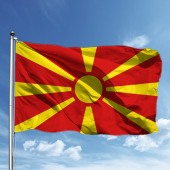 Makedonya Bayrağı 100*150