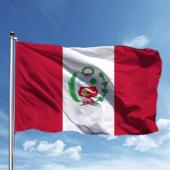 Peru Bayrağı 150*225 cm