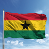 Gana Bayrağı 50*75