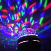 3 Renk Işık Yansıtan Dekoratif Lamba Crystal Magic Bulb-3