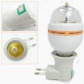 3 Renk Işık Yansıtan Dekoratif Lamba Crystal Magic Bulb-4