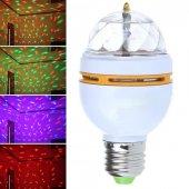 3 Renk Işık Yansıtan Dekoratif Lamba Crystal Magic Bulb-5