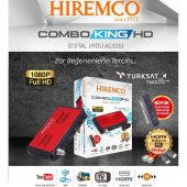 Hiremco Combo King Full Hd Uydu Alıcı