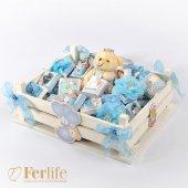 Ferlife Beyaz Sandık Erkek Bebek Çikolatası