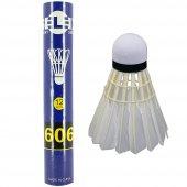Selex 606 Kaz Tüyü 12li Badminton Topu