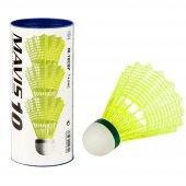 Yonex Mavis 10 Plastik 3lü Sarı Badminton Topu