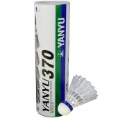 Yanyu Bad 370 Beyaz 6lı Plastik Badminton Topu