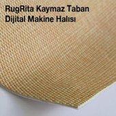 RugRita Siyah Beyaz Geometrik Şekilli Yumuşak Yüzey Halı-2