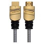 Goldmaster CAB-22 1,5 Metre Altın Uçlu 3D HDMI Kablo