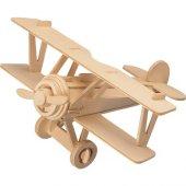 3d Ahşap Maket Uçak