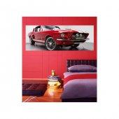 Red Car-3 178x65 cm Duvar Resmi