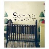 Tatlı Rüyalar Prens Kadife Duvar Sticker 169X64 Cm