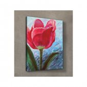 Flower For Love Kanvas Tablo 50X70 Cm-2