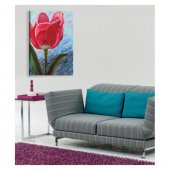Flower For Love Kanvas Tablo 50X70 Cm-3