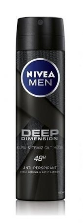 Nivea Deo Sprey Erkek Deodorant Deep Dimension...