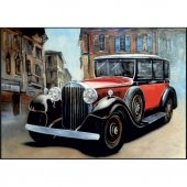 1000 Parça Puzzle Nostaljik Araba Süper Fiyat