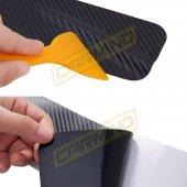 Chevrolet Spark Karbon Kapı Eşiği Sticker (4 Adet)-5