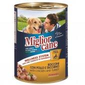 Miglior Cane Tavuklu Ve Hindili Katkısız Köpek Konserve Maması 405 Gr