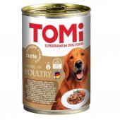 Tomi 3 Çesit Kümes Hayvanlı Köpek Konservesi 400 Gr
