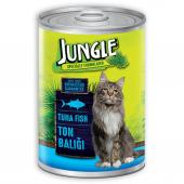 Jungle Ton Balıklı Kedi Konservesi 415 Gr