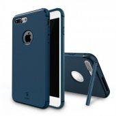 Baseus Hermit Tutucu Stantlı Kılıf İphone 7 Plus 8 Plus Yeşil