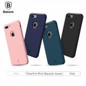 Baseus Hermit Tutucu Stantlı Kılıf iPhone 7 Plus/8 Plus Pembe-2