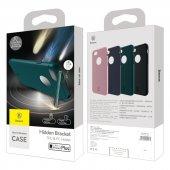 Baseus Hermit Tutucu Stantlı Kılıf iPhone 7 Plus/8 Plus Pembe-3