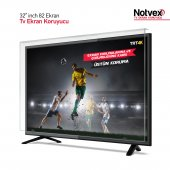 "Notvex 32"" inç 82 Ekran Tv Ekran Koruyucu"