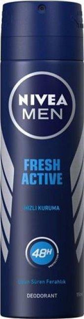 Nivea Deo Sprey Erkek Deodorant İnvisible Fresh...