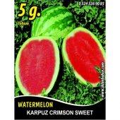 Karpuz Tohumu Crimson Sweet 5 G (Takribi 50 Tohum)
