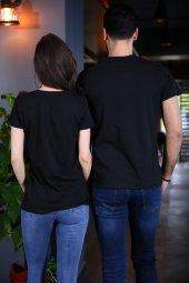 Sevgili Kombini Captain First Mate Siyah Tişört Kısa Kollu Tshirt-2