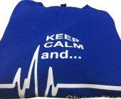 Keep Calm And Sweatshirt Mavi-5