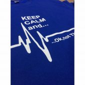 Keep Calm And Sweatshirt Mavi-8
