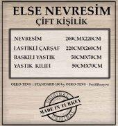 ELSE TOZ PEMBE İNCİLİ BASKILI ÇİFT KİŞİLİK 3D NEVRESİM TAKIMI-2