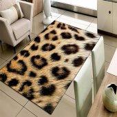 Else Halı Leopar 3d Modern Dekoratif Salon Mutfak Halısı 141