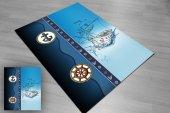 Eç 2148 3d Denizci Mavi Çocuk Halısı